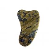 Gua Shá em Pedra Natural Serpentinita Nova Belleza