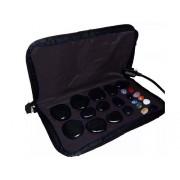 Kit para Massagem com Pedras Quentes Preto 220 Volts