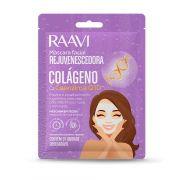 Máscara Facial Tecido COLÁGENO & Q10 Raavi