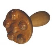 Massageador em Madeira Cogumelo