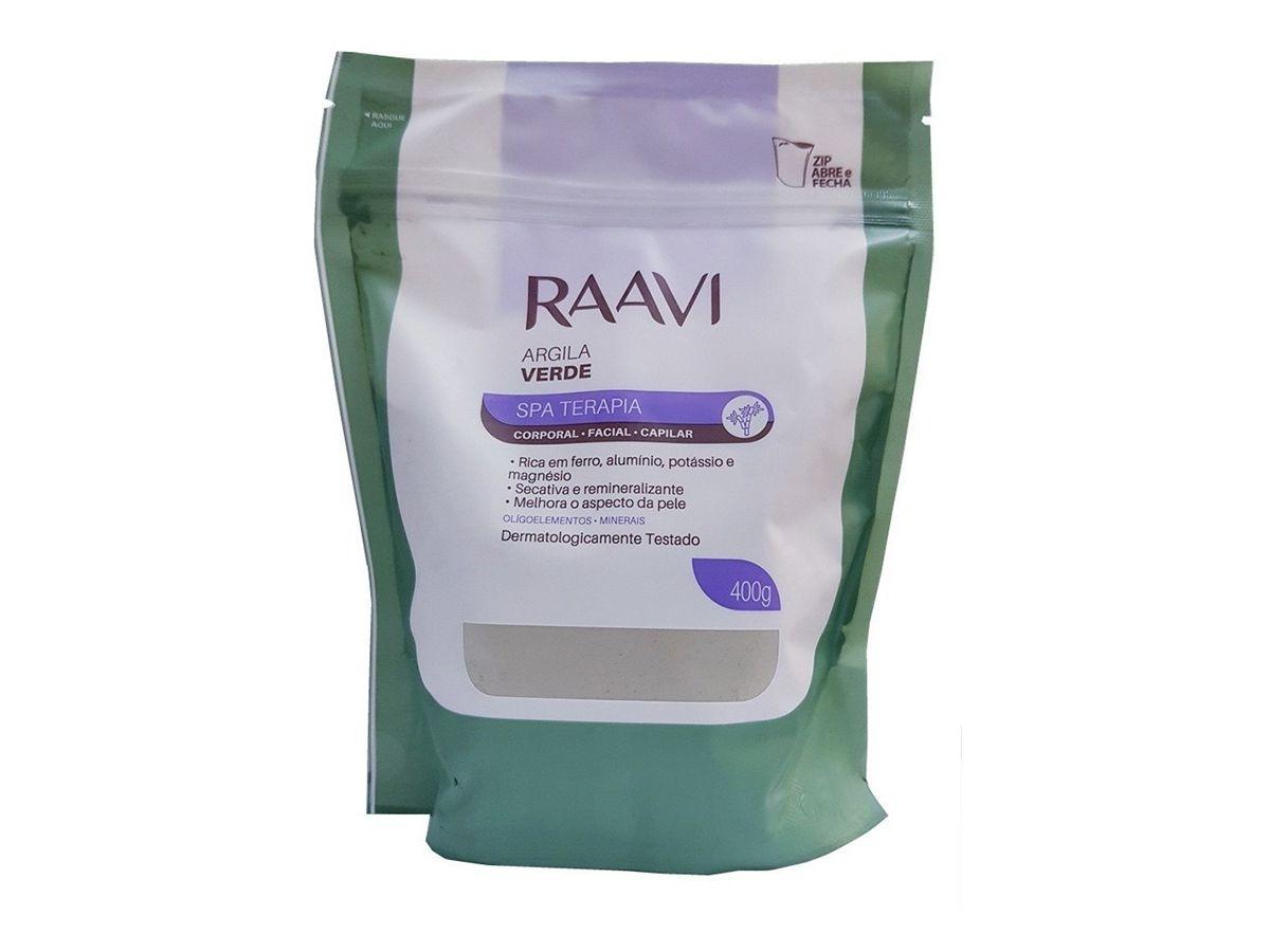 Argila Verde 400 g Raavi