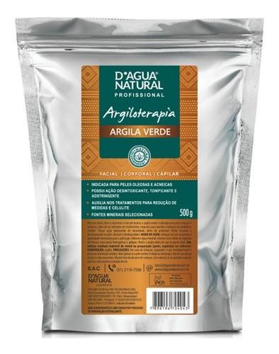 Argila Verde 500g D'agua Natural