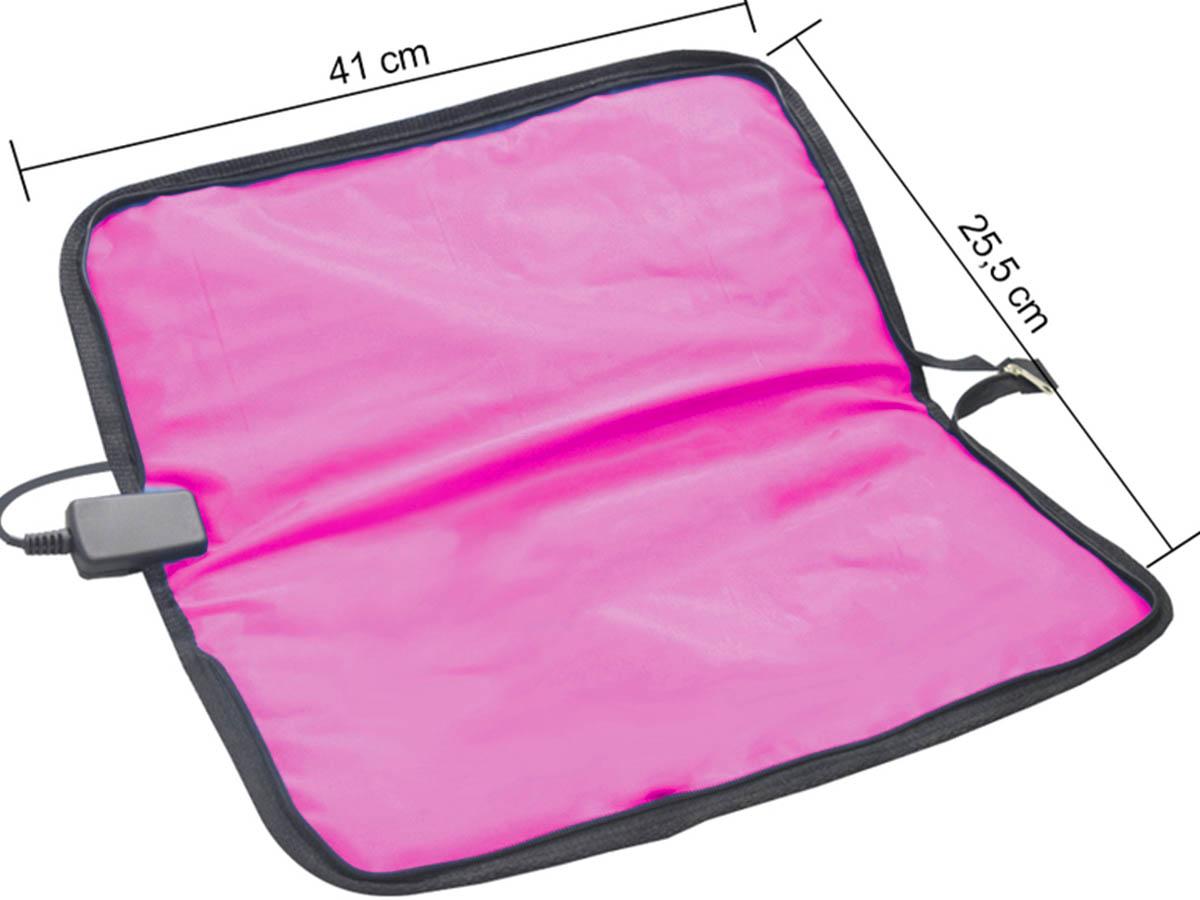 Bolsa Aquecedora de Pedras para Massagem 110 V Rosa