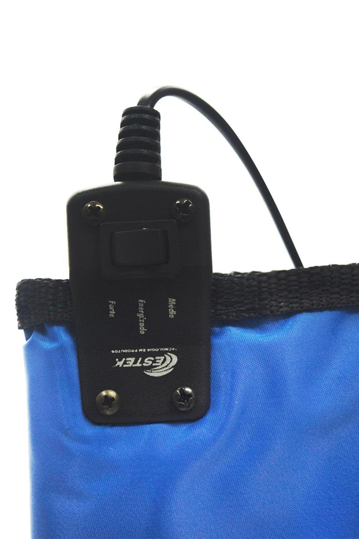 Bolsa Aquecedora de Pedras para Massagem 220 V Azul