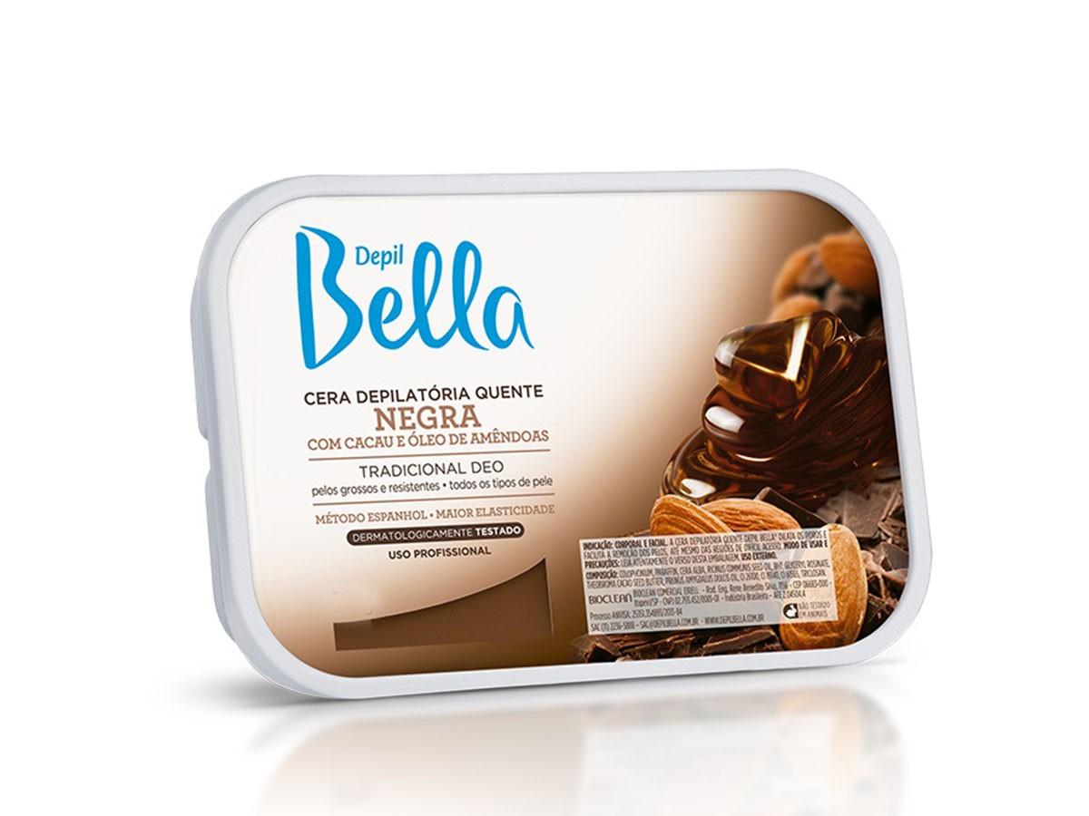Cera Depilatória Negra 250g Depil Bella