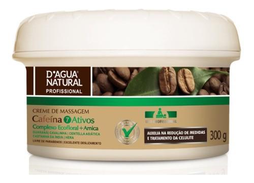 Creme De Massagem Cafeína 7 Ativos Complexo Ecofloral 300g