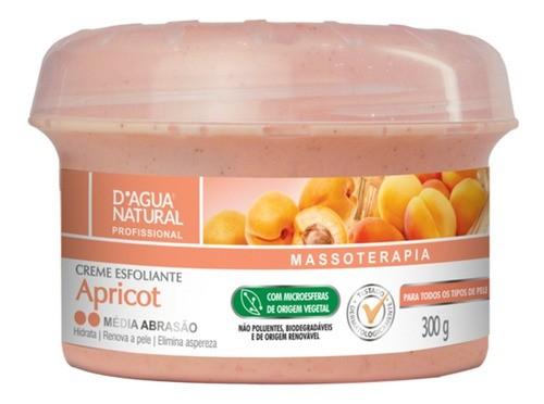 Creme Para Massagem Esfoliante Apricot Média Abrasão 300g