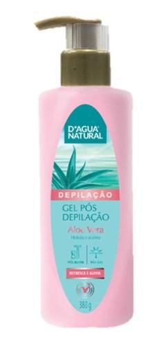 Gel Pós Depilação 380g D'agua Natural