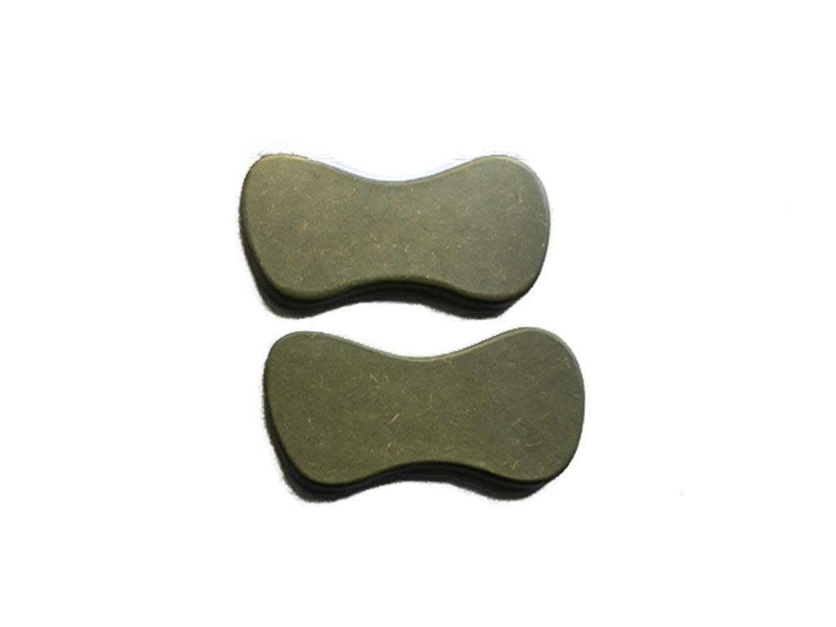 Kit de Pantalas para Massagem Corporal e facial com 6 Peças