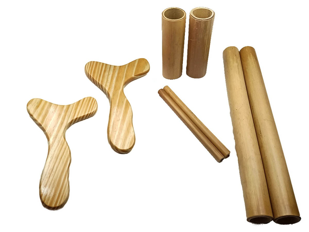 Kit para Massagem Modeladora Bambus e Pantala