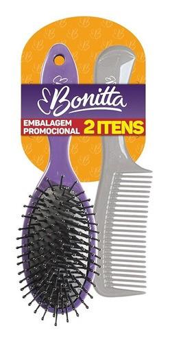 Kit Promocional Escova + pente Bonitta