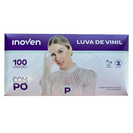 Luva de Vinil com Pó 100 unidades