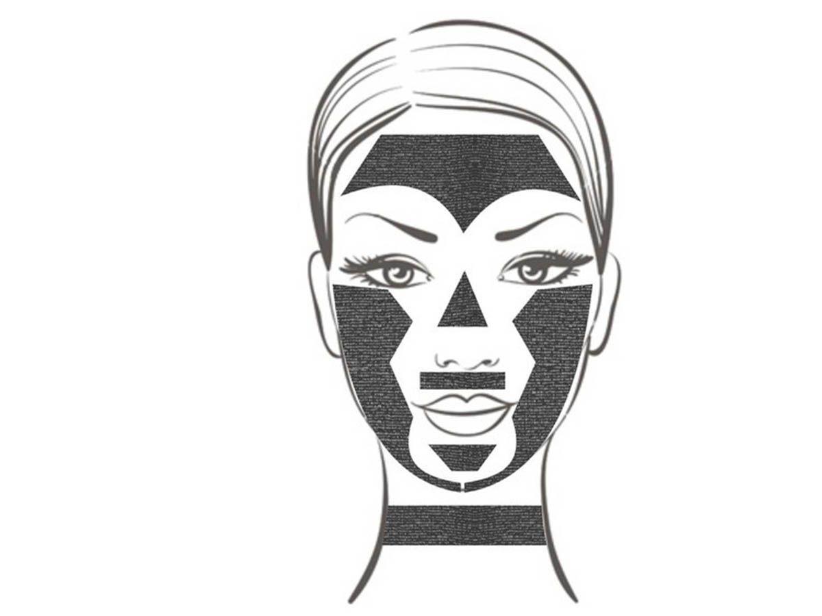 Máscara de Gesso – Lama Negra Estata