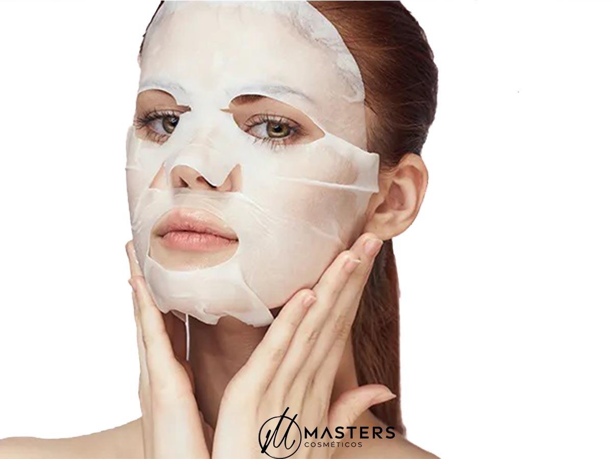 Máscara Descartável para Tratamento Desidratada c/12 uni