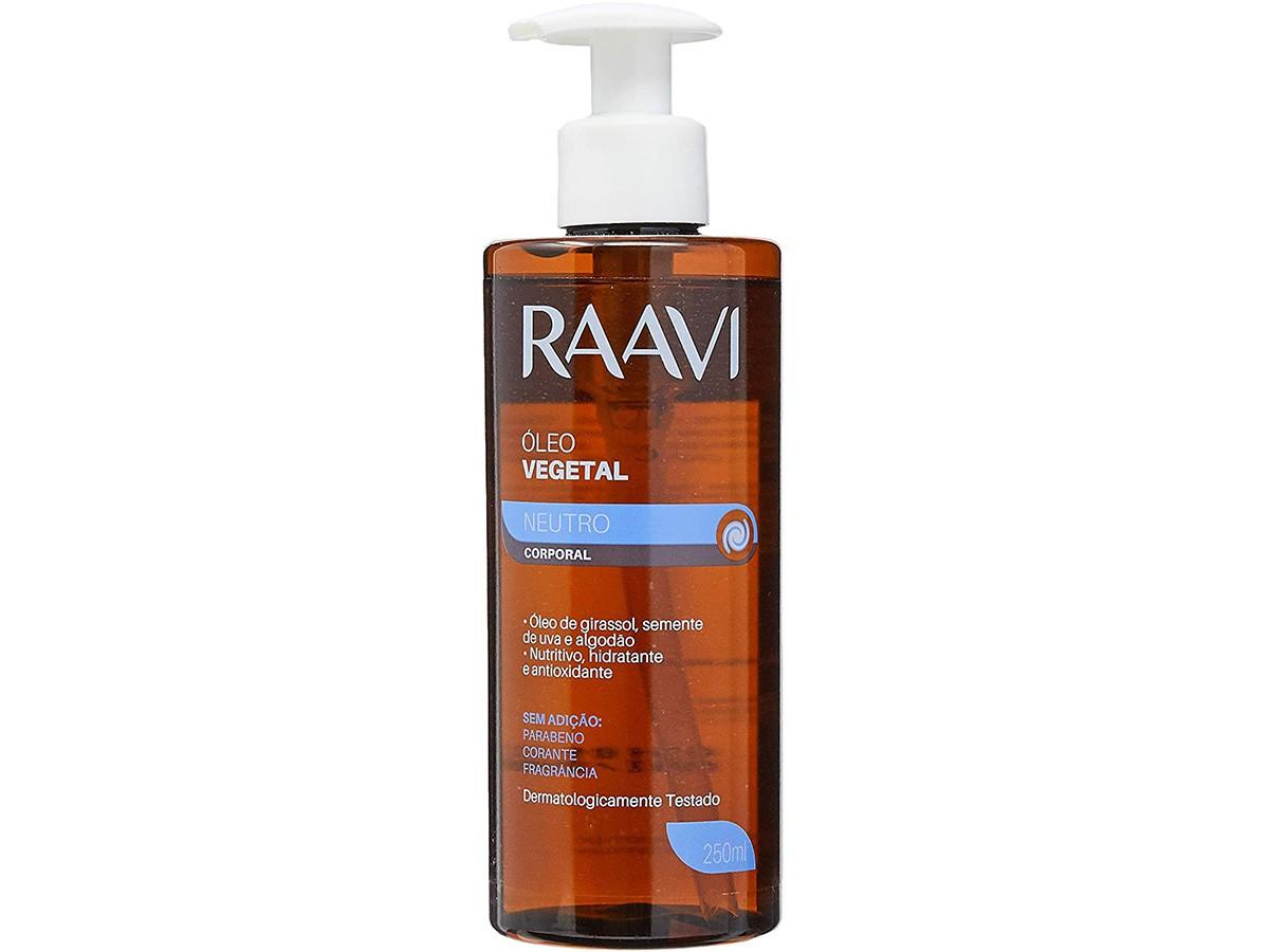 Óleo Vegetal Relaxante para Massagem 250ml Raavi