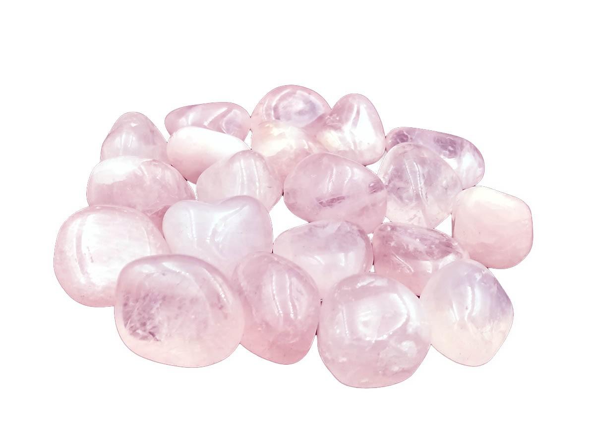 Pedra Rolada Quartzo Rosa 2 á 3 cm 500g