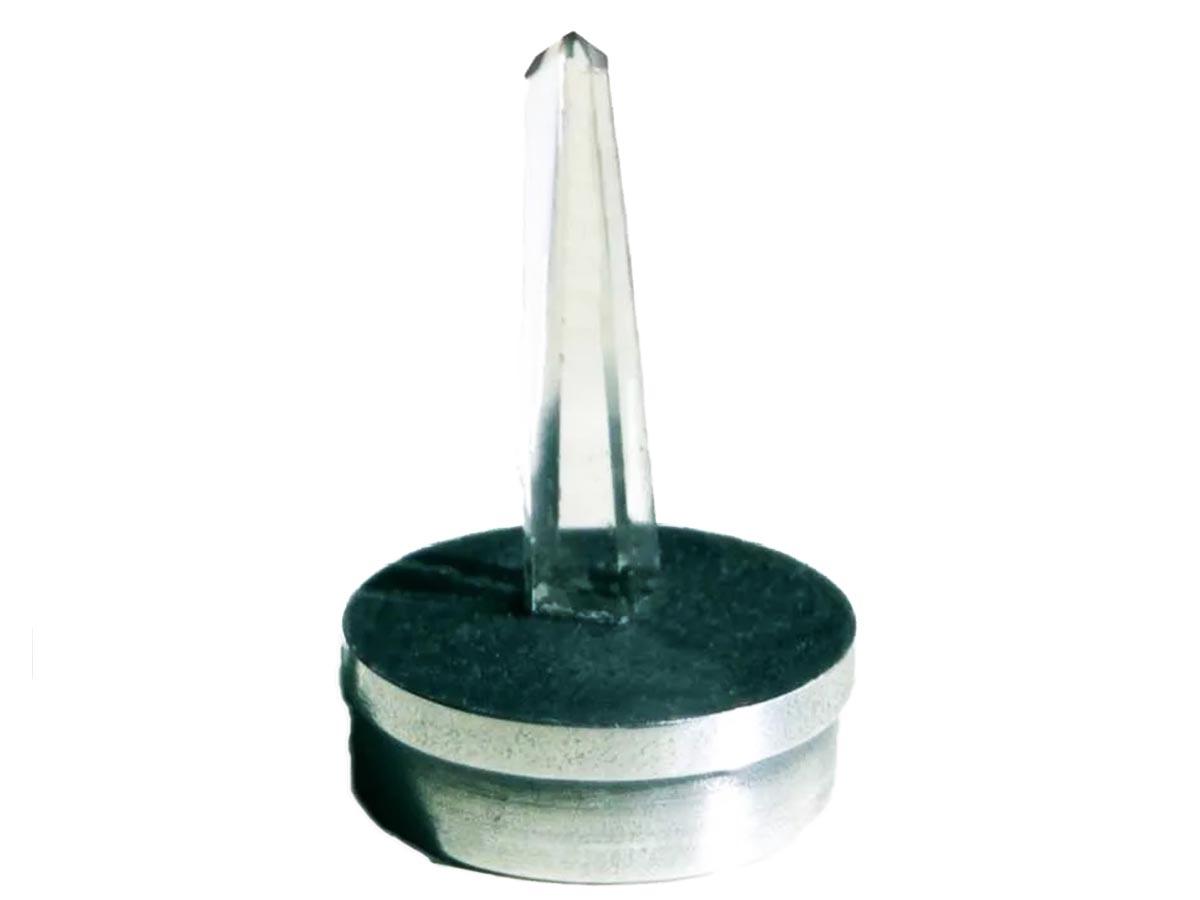 Ponta de Cristal Cromopuntura para Bastão Cromático Zots