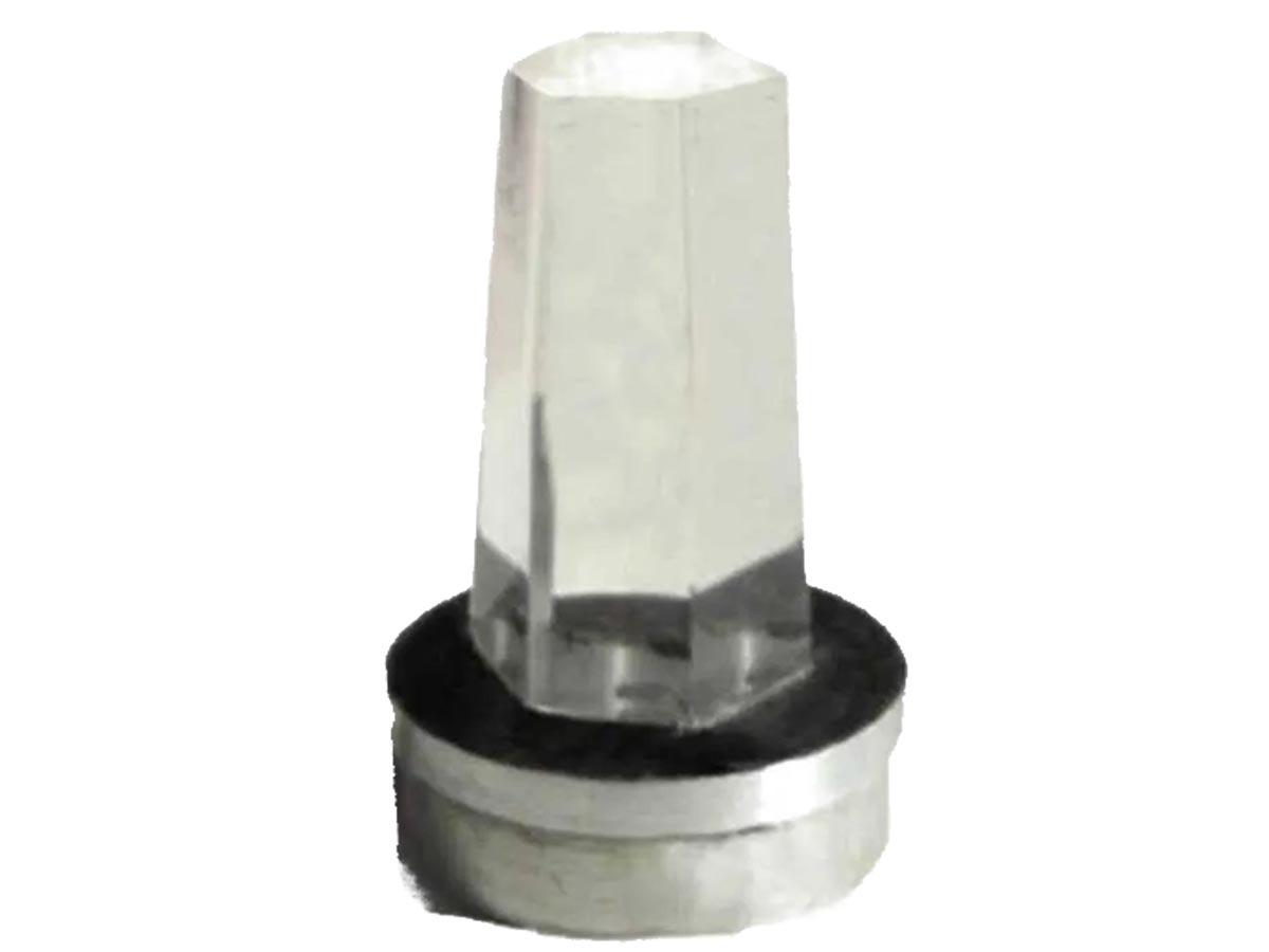 Ponta de Cristal Reta para Bastão Cromático Zots