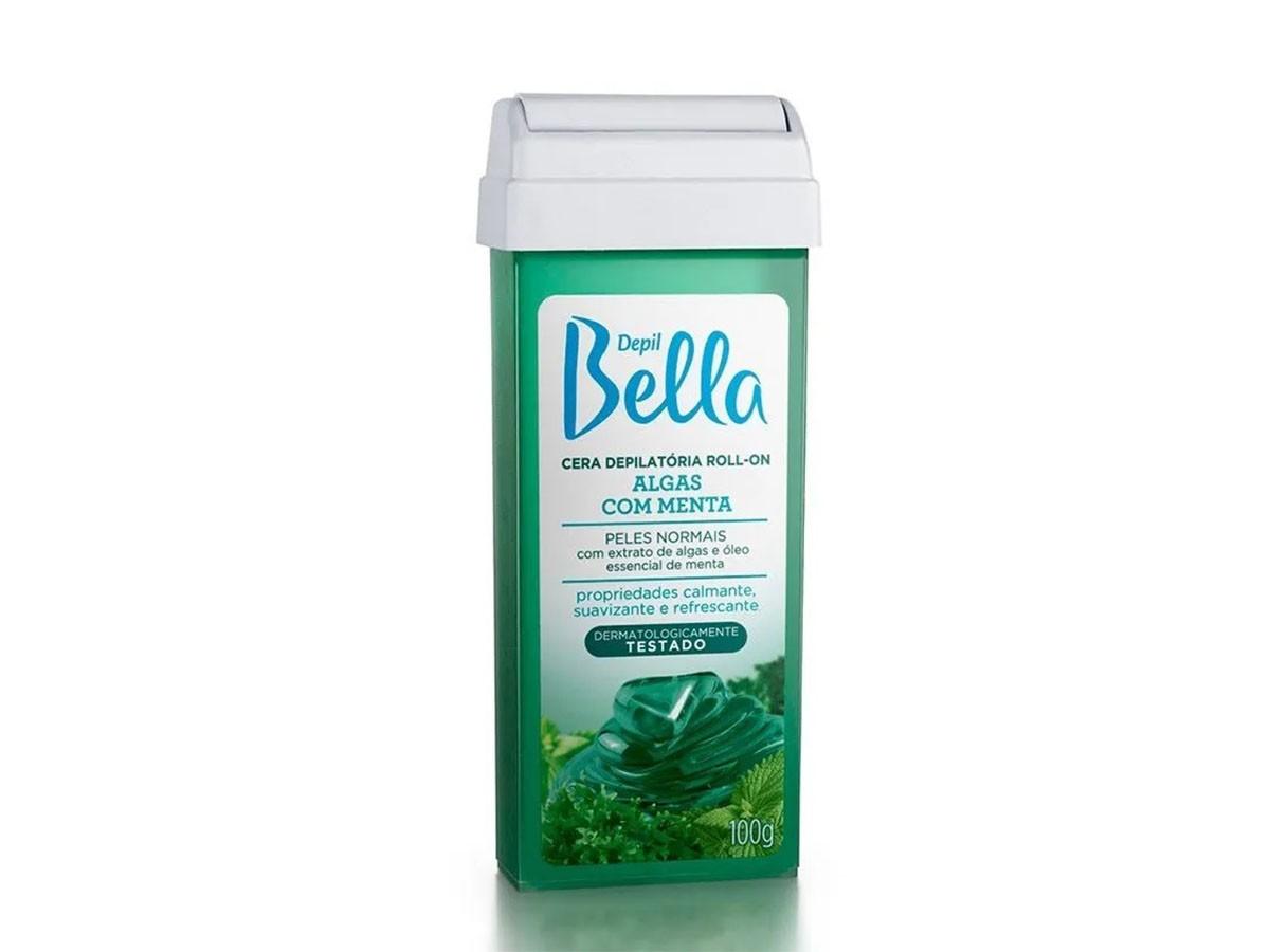 Refil de Cera para Depilação Roll-on Algas com Menta Depil Bella