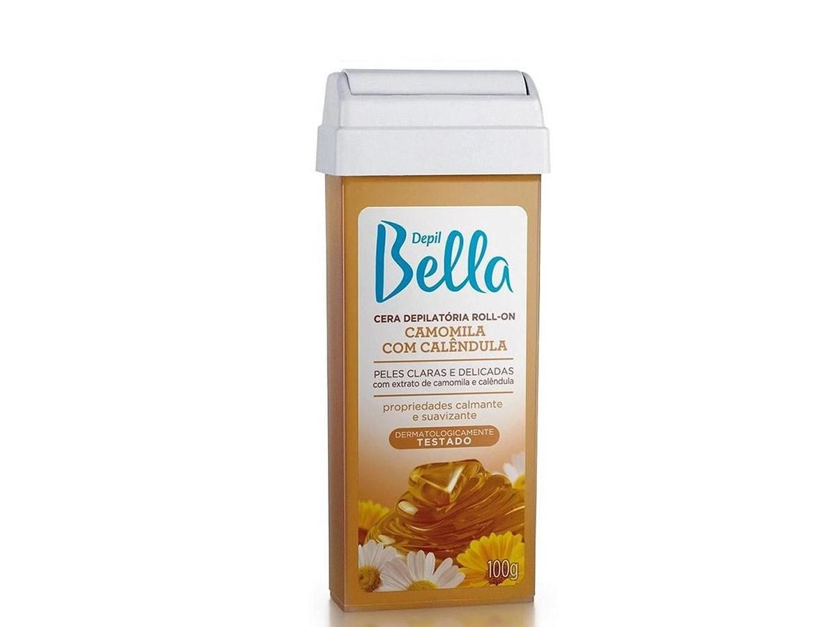 Refil de Cera para Depilação Roll-on Camomila e Calendula Depil Bella