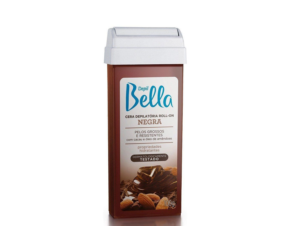 Refil de Cera para Depilação Roll-on Negra Depil Bella