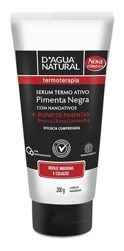 Serum Termo Ativo 200g D'agua Natural