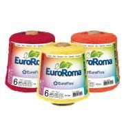 Barbante EuroRoma Colorido N°6 - 600g