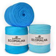 Fio EcoMalha Tons de Azul Claro