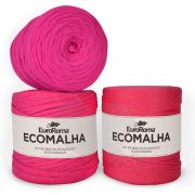Fio EcoMalha Tons de Pink