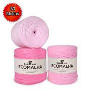 Fio EcoMalha Tons de Rosa - 80m
