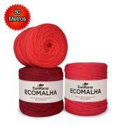 Fio EcoMalha Tons de Vermelho - 80m