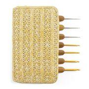 Kit Agulha de Crochê Bambu - Círculo