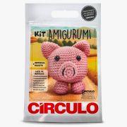 Kit Amigurumi Porquinho - Círculo