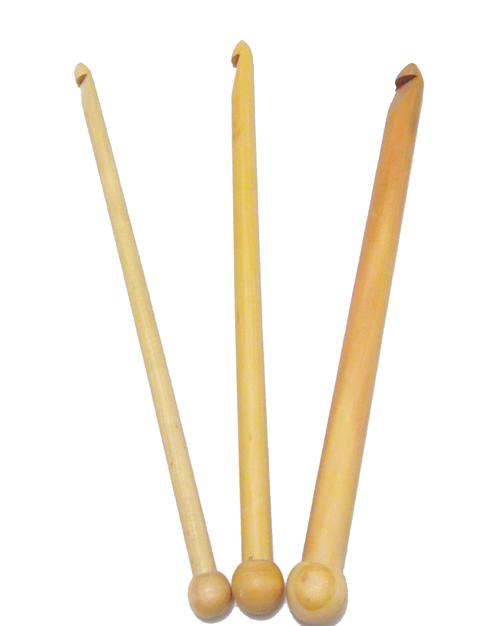 Agulha para Crochê Tunisiano Bambu