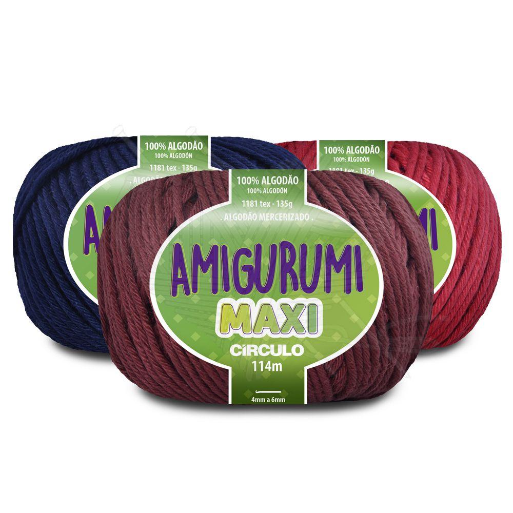 Fio Amigurumi Maxi Círculo 135g  - Bastex Artesanatos