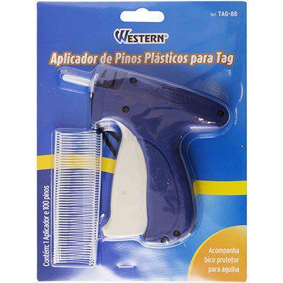 Aplicador de Pinos Plásticos para Tag Western TAG-88  - Bastex Artesanatos
