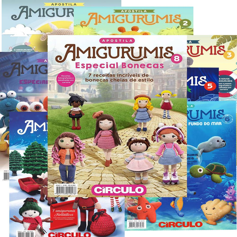 Apostila Círculo Amigurumis