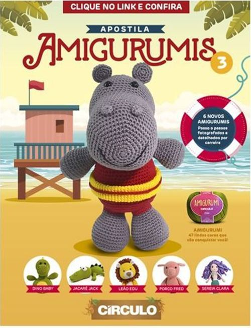 Apostila Círculo Amigurumis  - Bastex Artesanatos