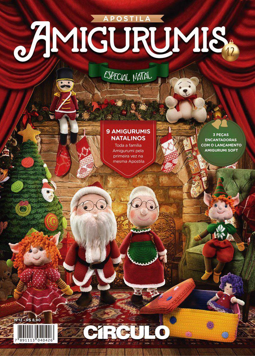 Apostila Círculo Amigurumis N° 12 - Especial de Natal