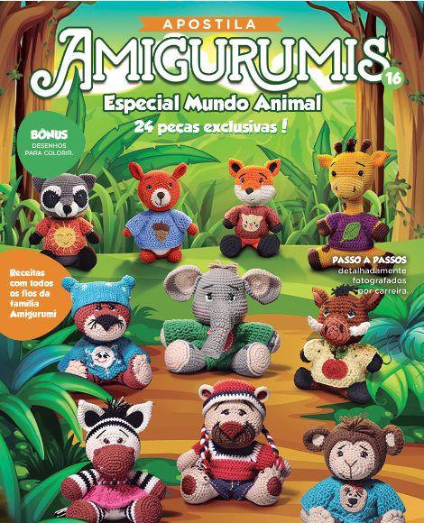 Apostila Círculo Amigurumis N° 16 - Especial Mundo Animal