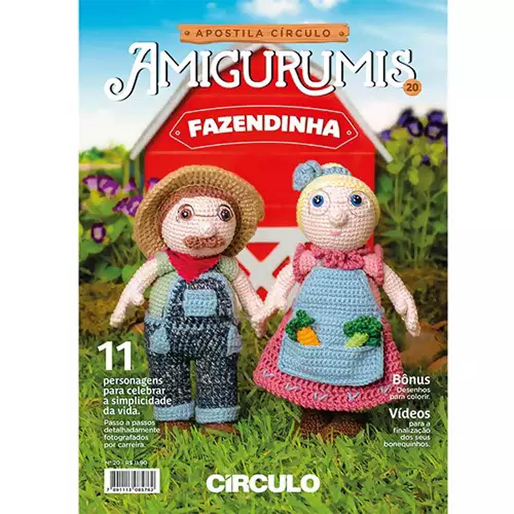 Apostila Círculo Amigurumis N° 20 - Fazendinha