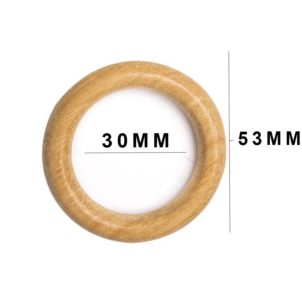 Argola Madeira RREL 53mm