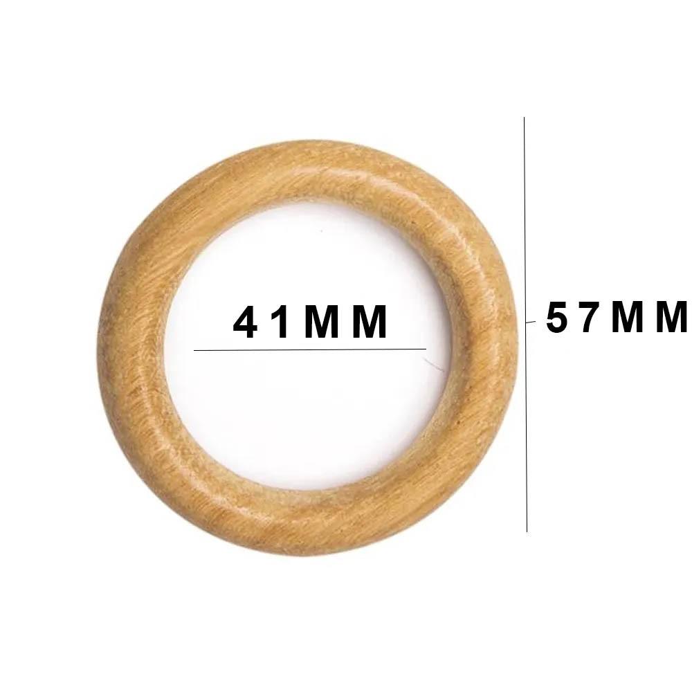 Argola Madeira RREL 57mm