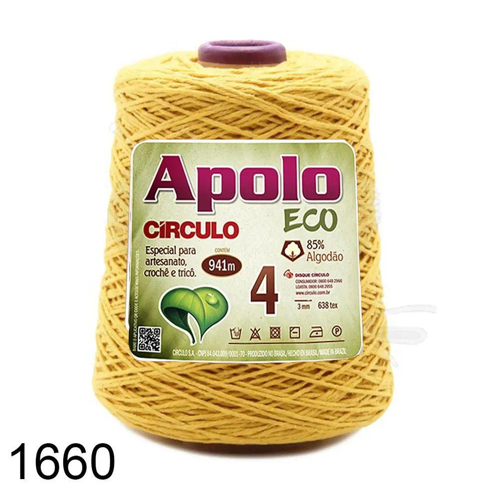 Barbante Apolo Círculo N°4 - 600g Cor 1660