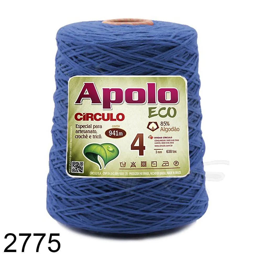 Barbante Apolo Círculo N°4 - 600g Cor 2775