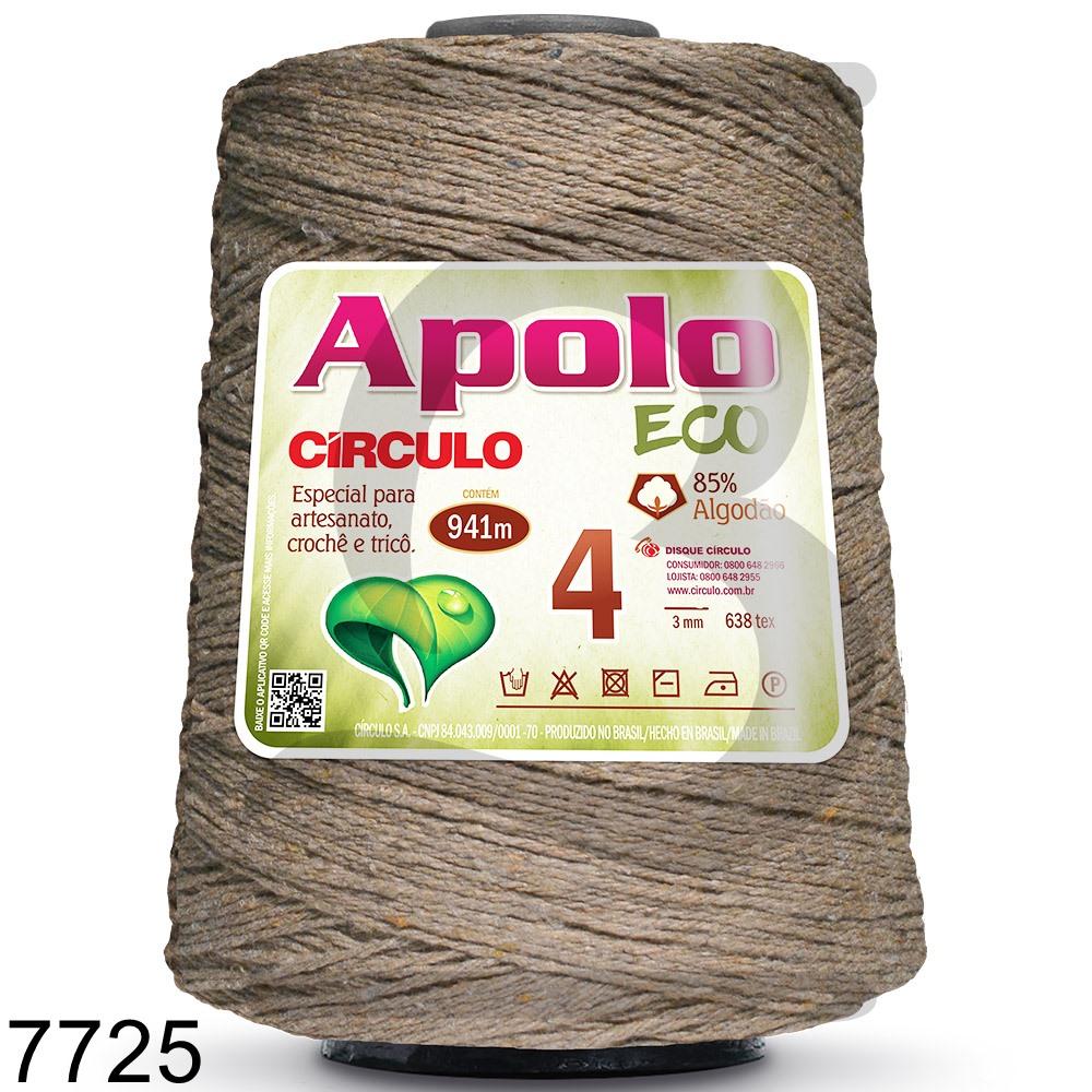Barbante Apolo Círculo N°4 - 600g Cor 7725