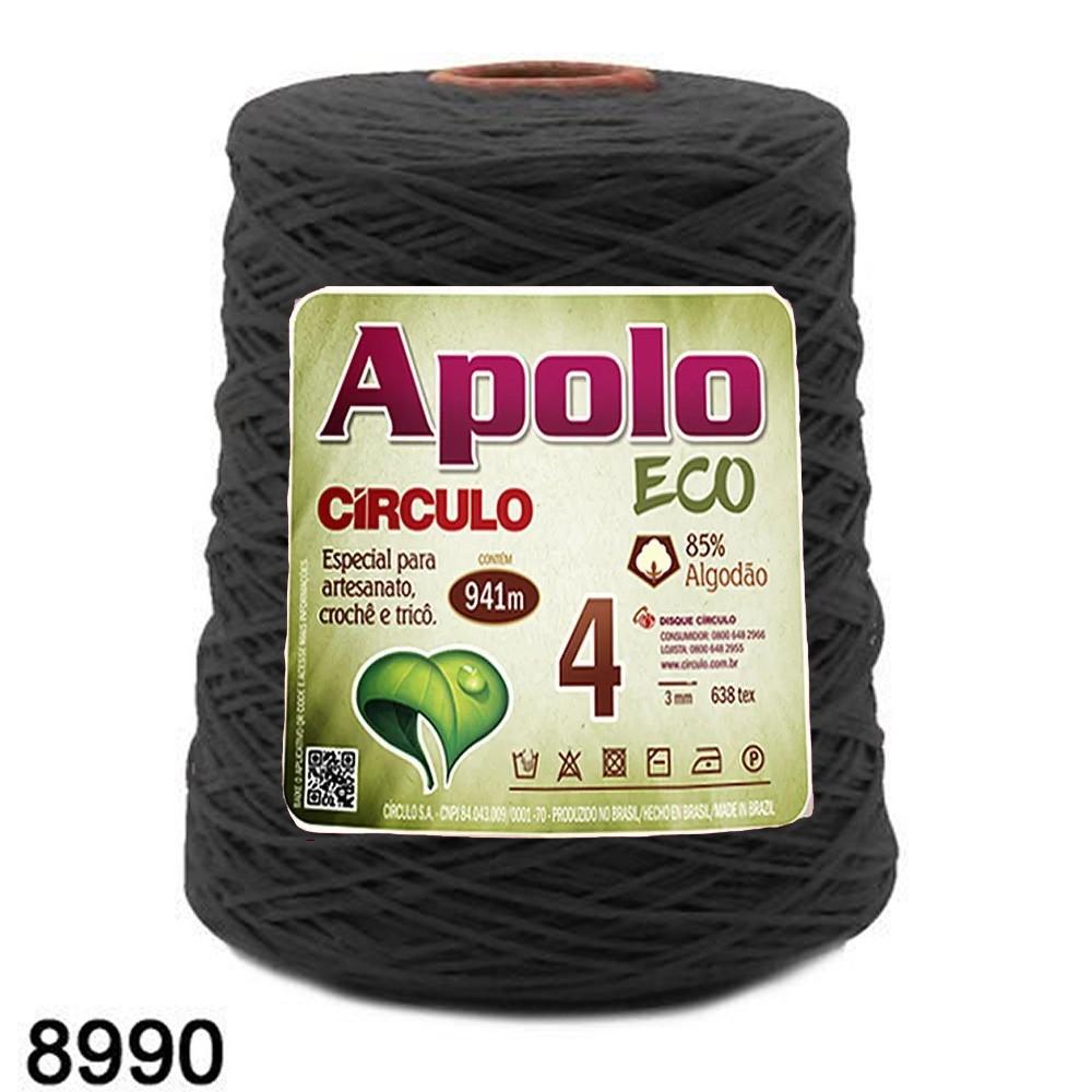 Barbante Apolo Círculo N°4 - 600g Cor 8990