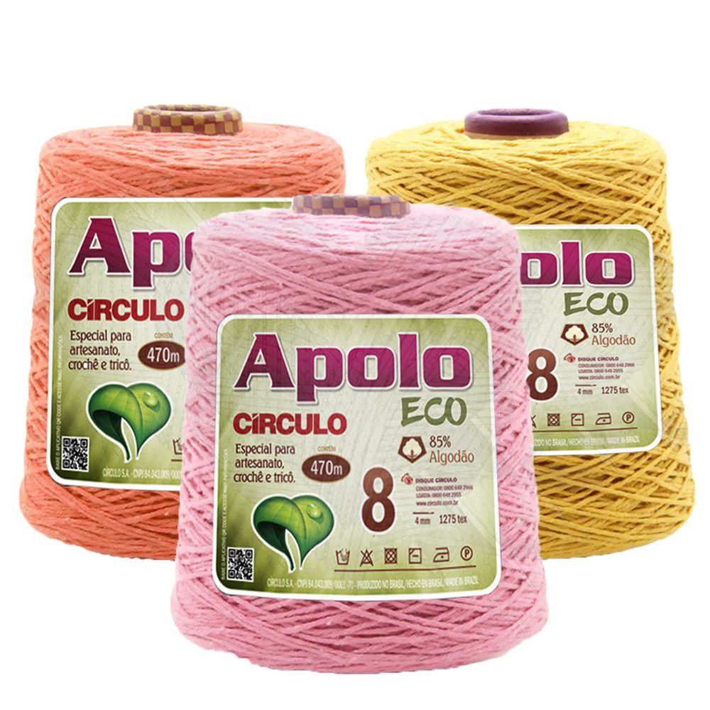Barbante Apolo Eco Círculo N°8 - 600g
