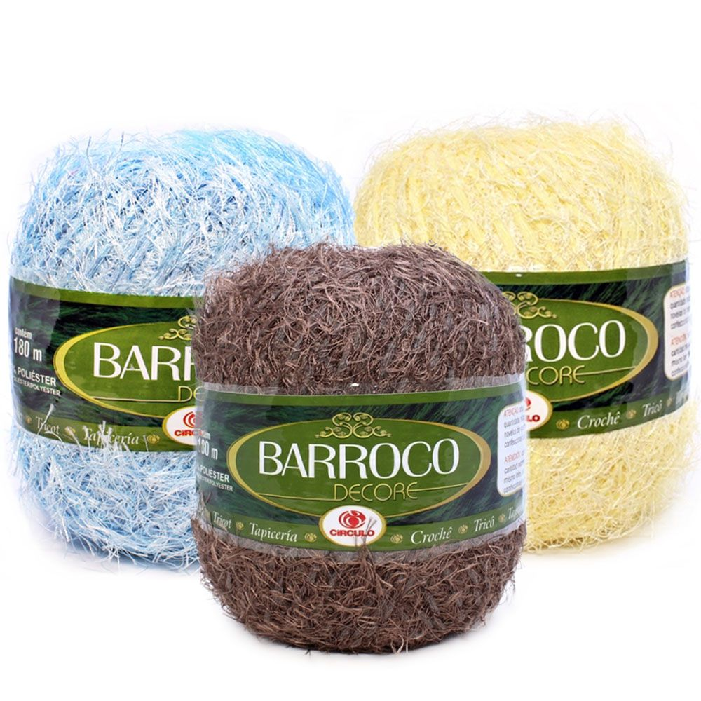 Barbante Barroco Decore 180mts 280g  - Bastex Artesanatos