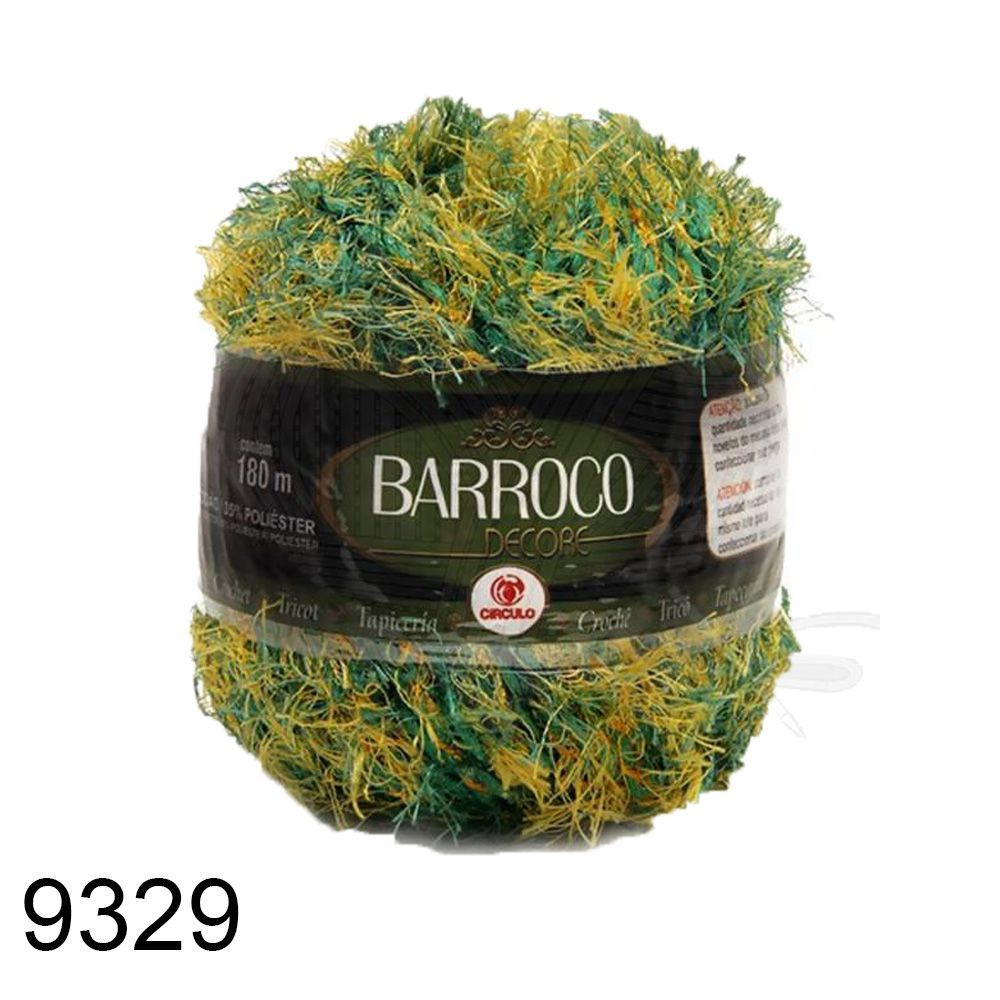 Barbante Barroco Decore 180mts 280g - Cor 9329   - Bastex Artesanatos